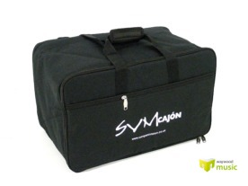 [Padded cajon carrying bag - with handles & rucksack style straps]