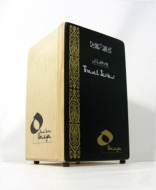 [Leiva Omeya Travel Series cajon assembled & ready to play]
